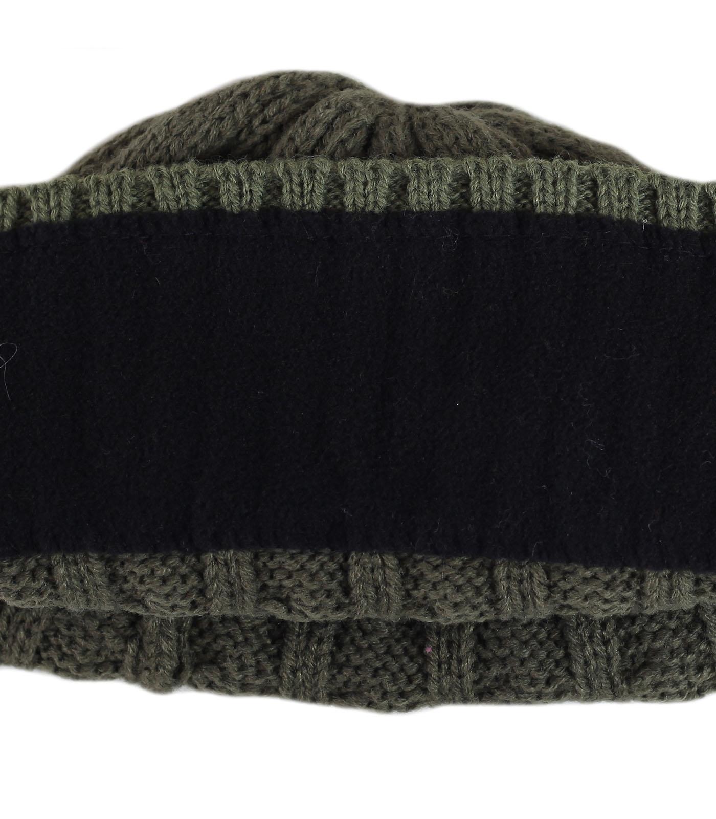 Купить гламурную мужскую шапку с рельефным узором утепленную флисом освежит ваш лук по низкой цене