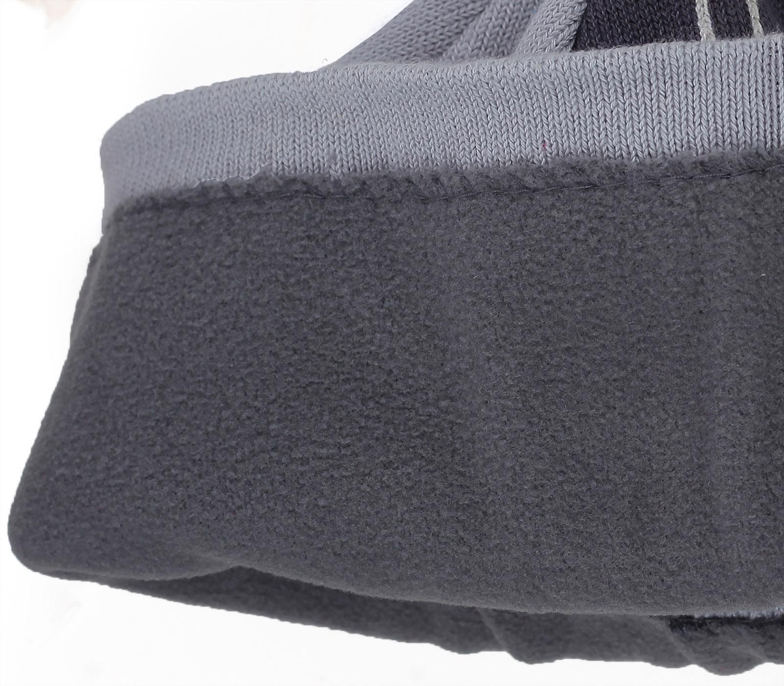 Купить гламурную женственную зимнюю шапку с лисой бренда ActionFox утепленную флисовой подкладкой по привлекательной цене