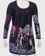 Купить гламурное черное платье от бренда LE GRENIER