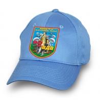 Голубая бейсболка 90 лет ВДВ с девизом