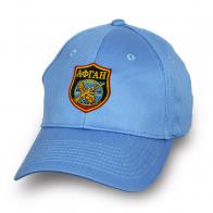 """Голубая бейсболка с авторской вышивкой """"Афган"""""""