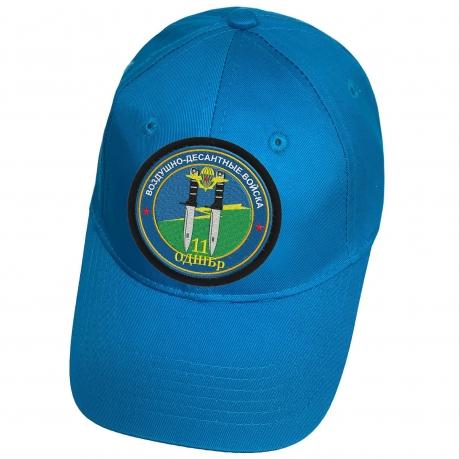 Голубая бейсболка с нашивкой 11 ОДШБр