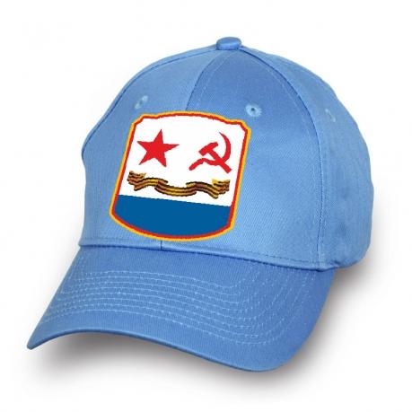 Голубая бейсболка ВМФ СССР