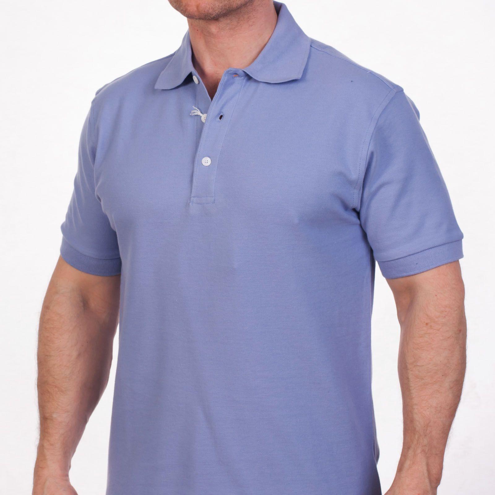 Недорогие рубашки поло однотонные