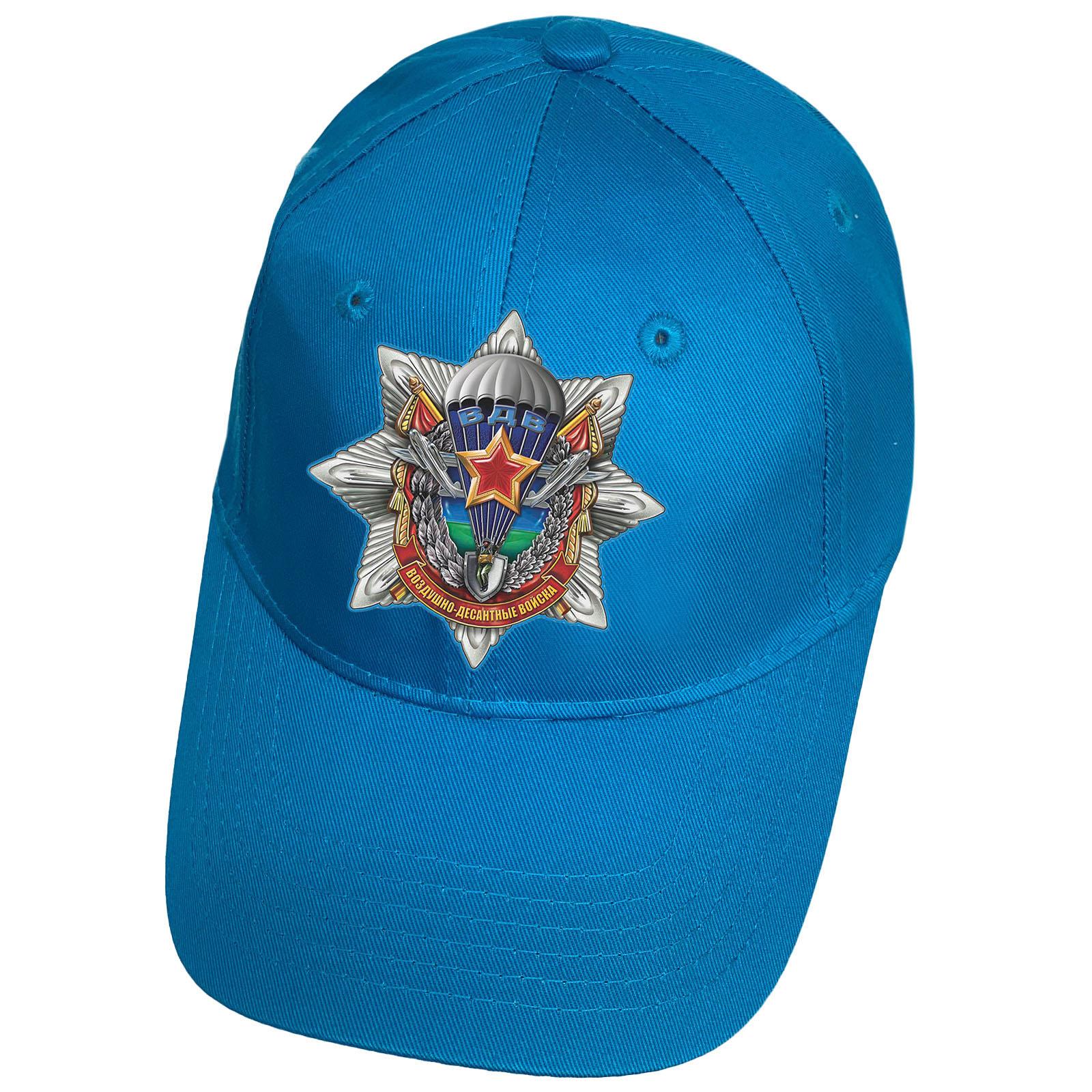 Голубая кепка с термотрансфером Воздушно-десантные войска