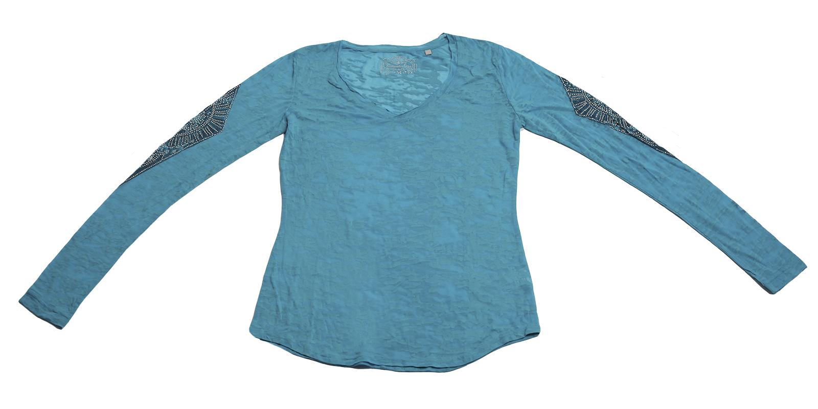 Голубая кофточка на каждый день от Panhandle Slim. Создай свой стильный образ!