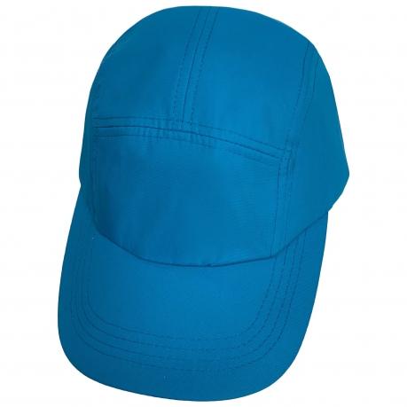 Голубая летняя бейсболка