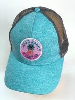 Голубая летняя бейсболка Outer Banks с сеткой
