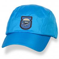 Голубая мужская кепка с нарукавным знаком 629-й ОИСБ 7-ой ДШД купить оптом