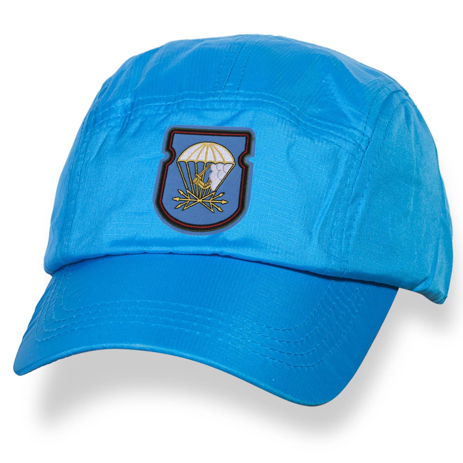 Голубая мужская кепка с знаком 674-го Батальона 98 ВДД ВДВ купить с доставкой