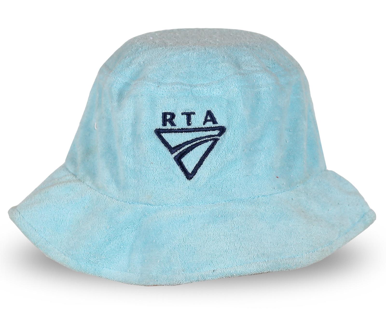 Голубая шляпа RTA из мягкой ткани