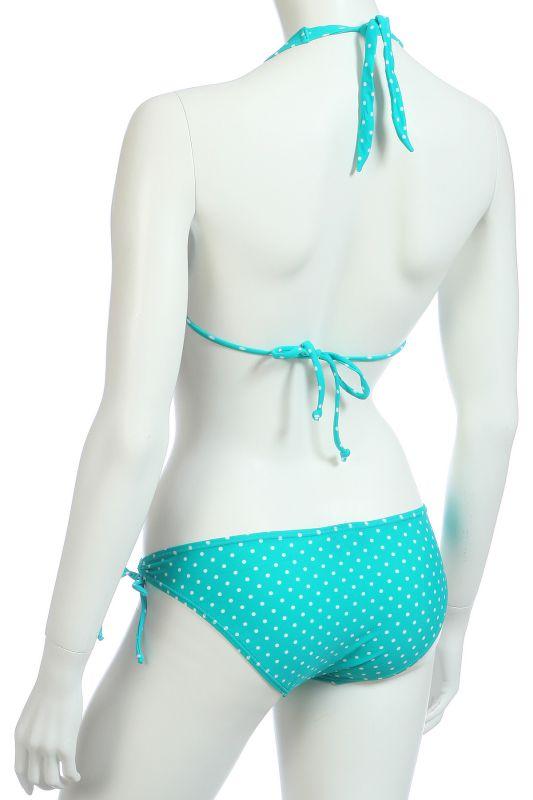 Голубое бикини - вид сзади