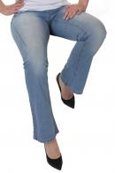 Эффектные голубые джинсы – новинка от Модного Дома Sheego.