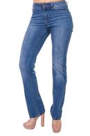 Голубые женские джинсы