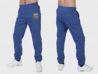 Голубые спортивные штаны ВДВ (на флисе)