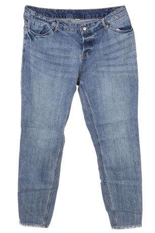 Голубые женские джинсы &Denim