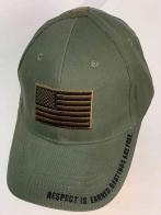 Городская кепка с американским флагом
