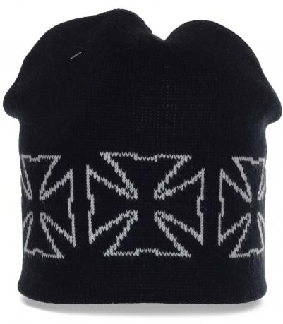 Городская мужская шапка бини. Достойный выбор гарантирующий тепло и практичность. Последняя модная тенденция