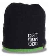 Городская неординарная мужская шапка CAT MAN OOO для мужчин со вкусом