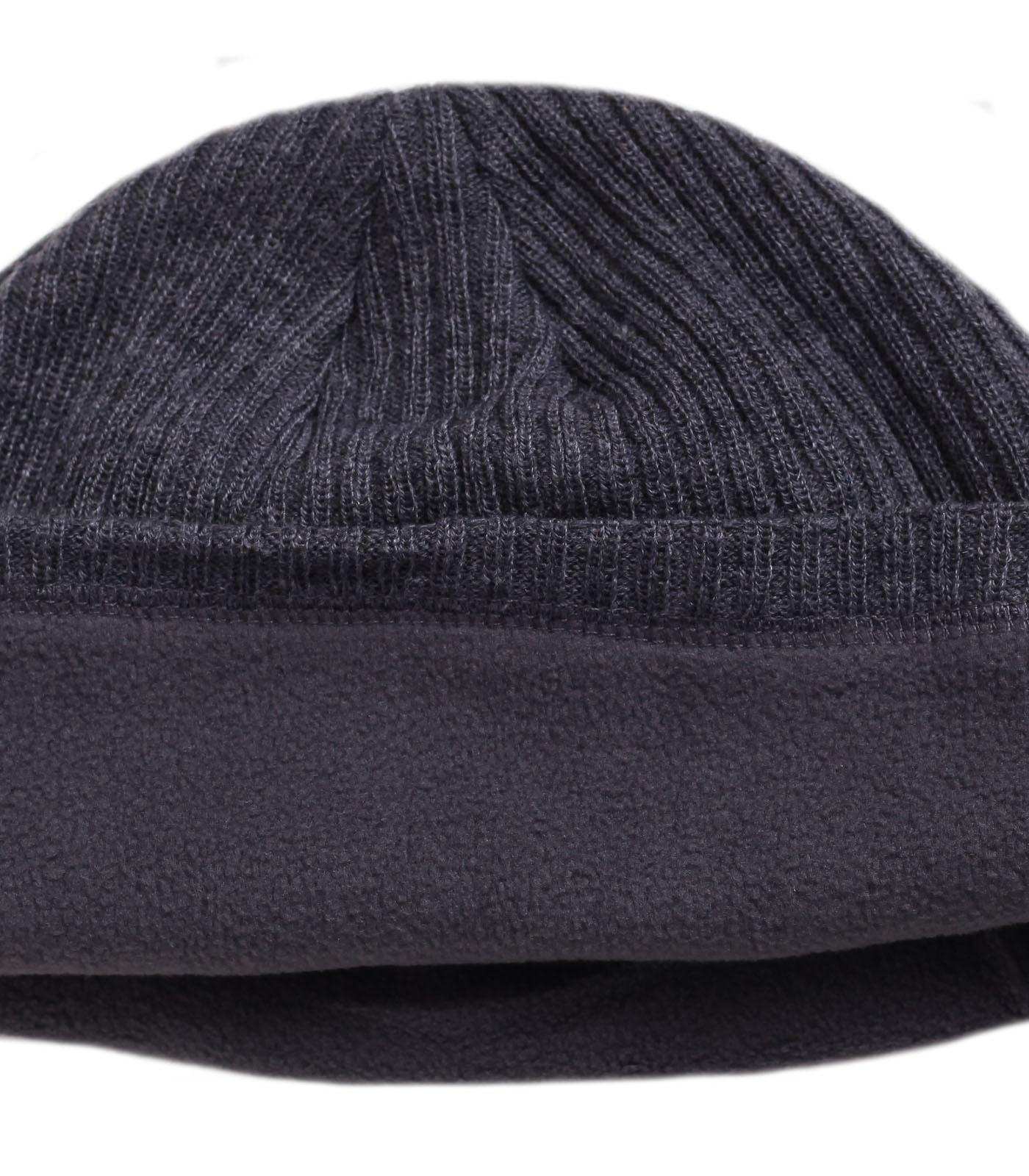 Заказать городскую зимнюю шапку утепленную флисом комфортную актуальную современную модель по лучшей цене