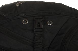 Городской черный рюкзак с эмблемой Артиллерии купить оптом