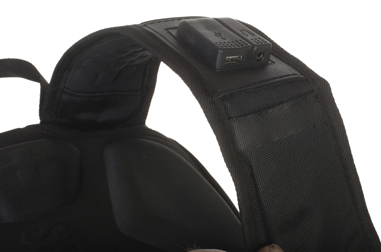 Городской черный рюкзак с эмблемой Артиллерии купить с доставкой