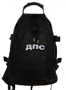 Городской черный рюкзак с нашивкой ДПС - заказать оптом