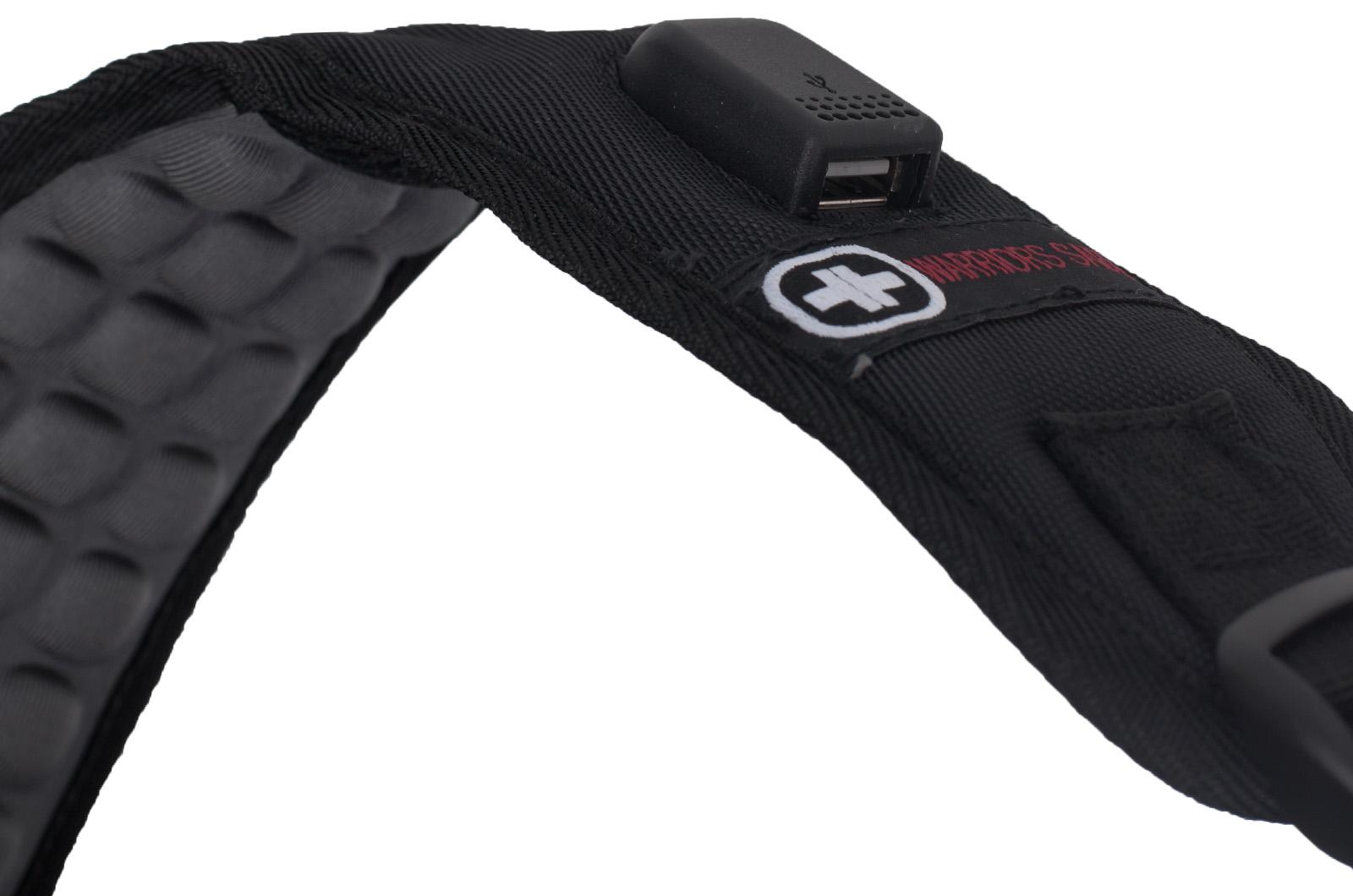 Городской черный рюкзак с нашивкой ФСО - купить в розницу