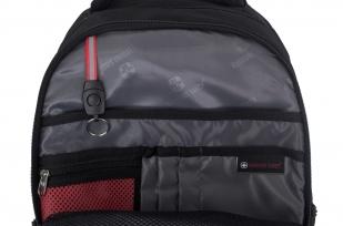 Городской черный рюкзак с нашивкой ФСО - купить в подарок