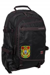 Городской черный рюкзак с нашивкой Пограничной службы - купить оптом