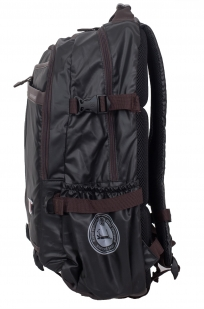 Городской черный рюкзак с нашивкой Пограничной службы - купить в розницу