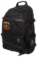 Городской черный рюкзак с нашивкой РВСН