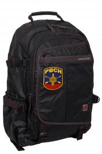 Городской черный рюкзак с нашивкой РВСН - купить оптом