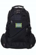 Городской черный рюкзак с нашивкой ВВС