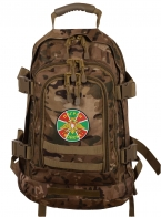 Городской камуфляжный рюкзак с эмблемой Погранвойск - купить в Военпро