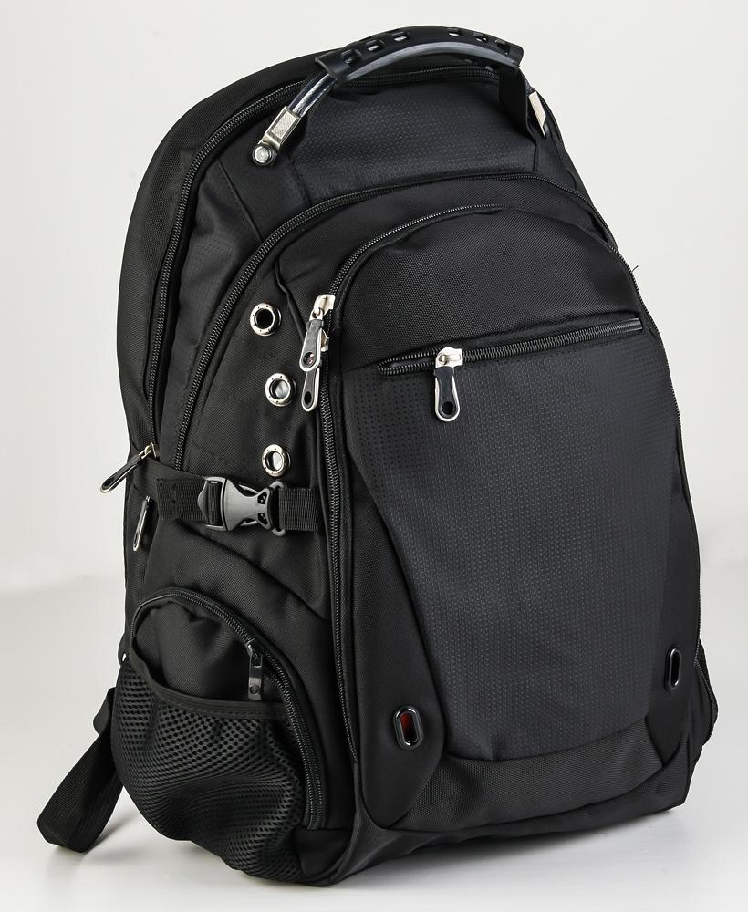 Заказать городской рюкзак черного цвета