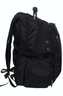 Городской рюкзак черного цвета по выгодной цене