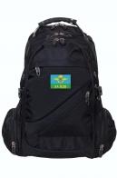 Городской рюкзак черного цвета с нашивкой За ВДВ