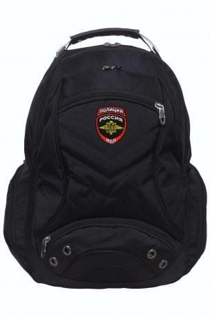 Городской рюкзак  с шевроном Полиции России