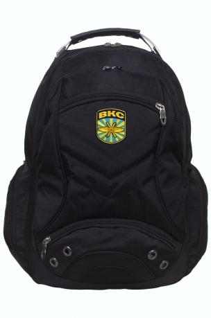 Городской рюкзак с вышитым шевроном ВКС