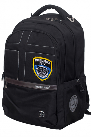 Эффектный городской рюкзак с эмблемой Спецназа ГРУ