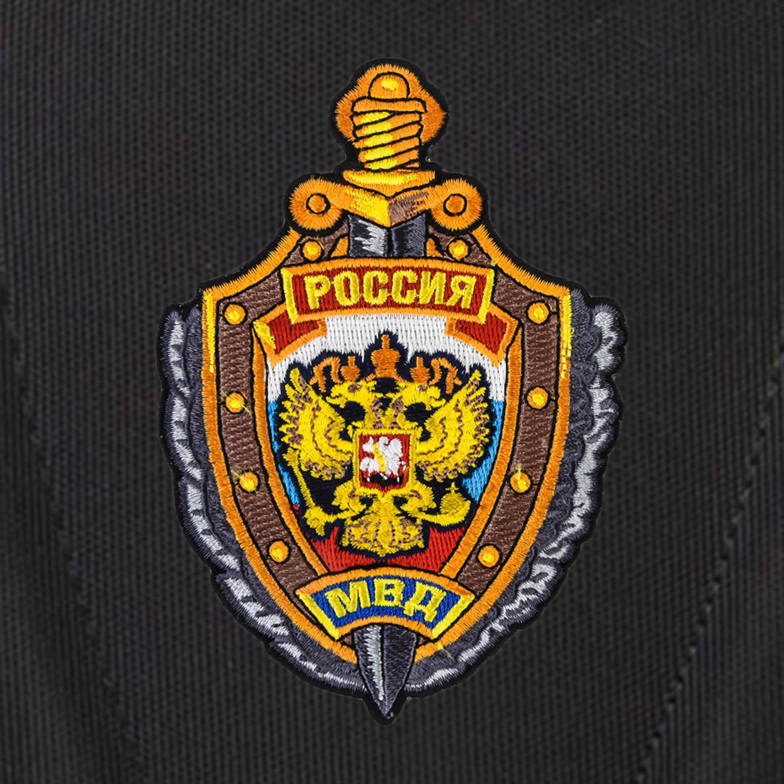 Городской стильный рюкзак с нашивкой МВД России купить в подарок