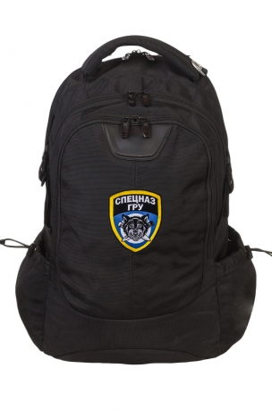 Городской вместительный рюкзак с нашивкой Спецназ ГРУ
