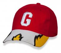 Горячая красная бейсболка с буквой G