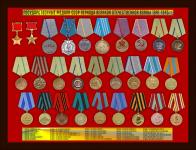 Государственные медали СССР периода Великой Отечественной войны 1941-1945 гг.