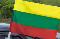 Государственный флаг Литвы автомобильный
