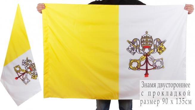 Флаг Ватикана  двухсторонний