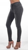 Градиентные женские джинсы с плавным переходом цвета