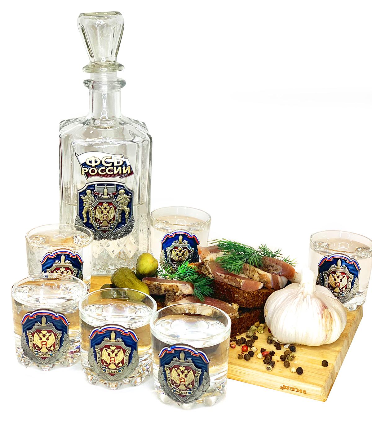 Стеклянный набор для спиртных напитков ФСБ