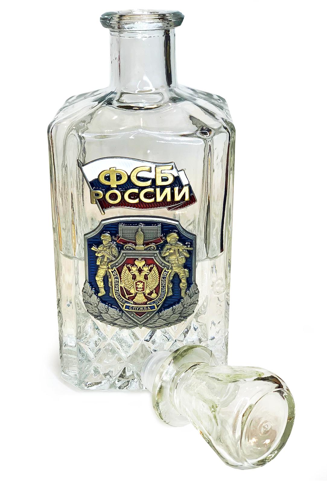Презентабельный набор ФСБ России графин и стопки